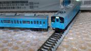 クモハ123-5 6+クハ103系阪和線羽衣支線3両 223系225系323系並走