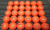 【超美品ロスト】2015,16 ブリジストンTourStage V10 Limited 30個 (オレンジ)