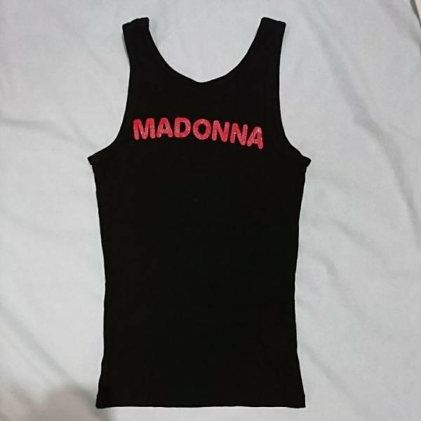マドンナ タンクトップ MADONNA 米国 ICON ファンクラブのオフィシャルショップより購入 HARD CANDY 女性9号 未使用 送料185円