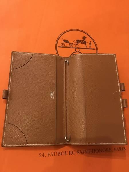 HERMES 手帳 パスポートケース ボールペン付き  送料205円〜
