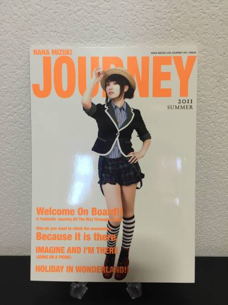 ライブ限定☆水樹奈々 NANA MIZUKI LIVE JOURNEY 2011 本 写真集 パンフレット☆美品