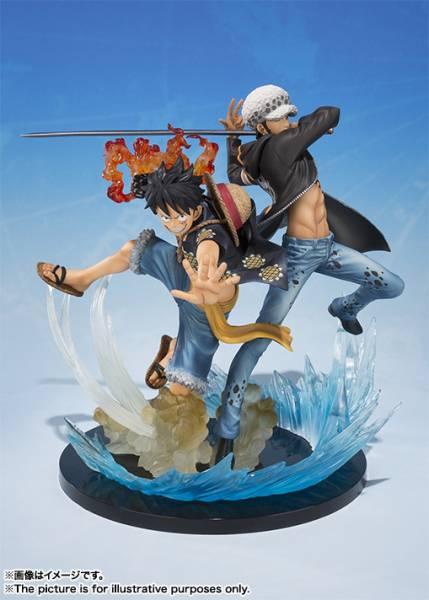 フィギュアーツZERO モンキー・D・ルフィ&トラファルガー・ロー -5th Anniversary Edition-