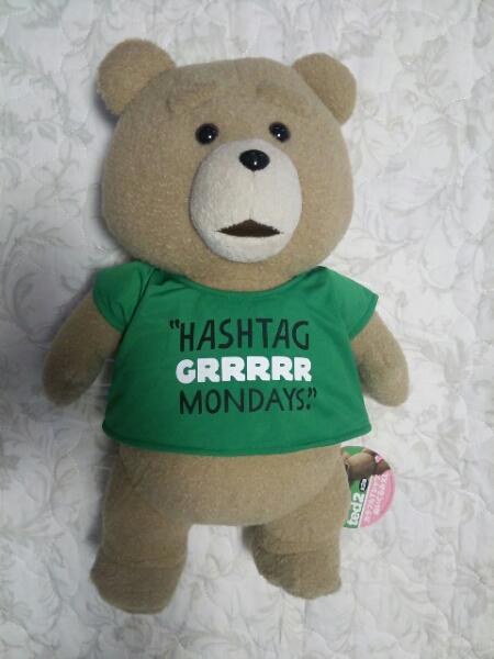 ted テッド2 カラフルTシャツぬいぐるみXL(グリーン) グッズの画像