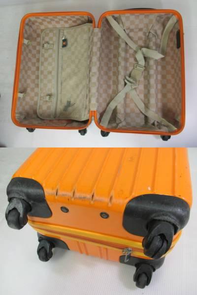 【鮮やかカラー!】 ★legend walker★ スーツケース 鍵付き OR_画像3