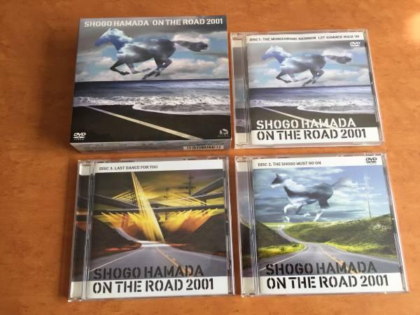 【中古】浜田省吾 LIVE ON THE ROAD 2001 DVD2枚&CD1枚セット