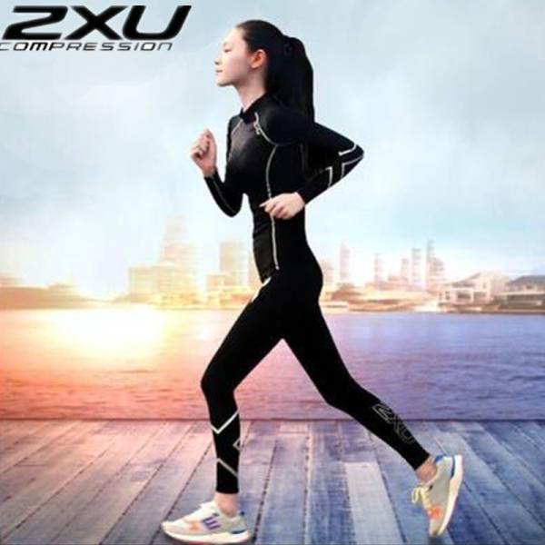 送料無料 2XU Compression コンプレッションウエア 女性用 上下セット スポーツインナー ランニング フィットネス 上下着