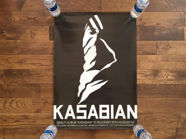 Kasabian Kasabian 販促 B2 ポスター カサビアン