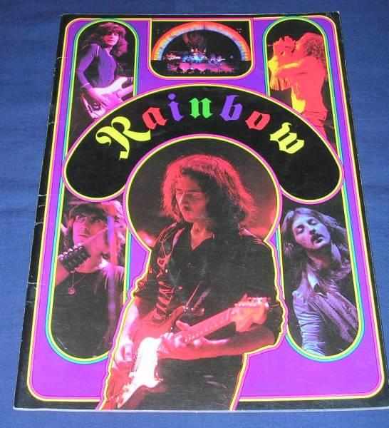 Rainbow ツアーパンフ 「レインボー 1978年日本公演」