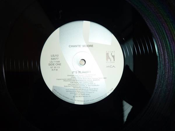 Chante Moore 12インチシングル / It's Alright _画像3