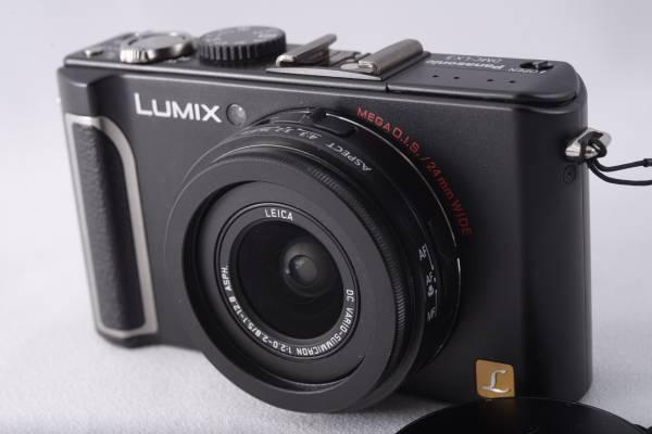 ★元箱・付属★ 美品 Panasonic LUMIX DMC-LX3 ブラック LEICA ライカ レンズ