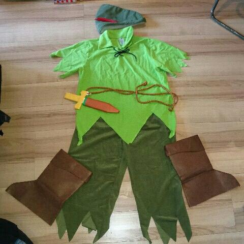ルービーズ ピーターパン衣装セット ディズニー ハロウィン 大人用 コスプレ パーティー ディズニーグッズの画像