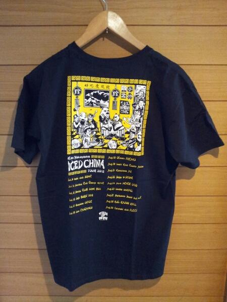 横山健 KEN YOKOYAMA PIZZA OF DEATH Tシャツ M 2012年ツアー ライブグッズの画像