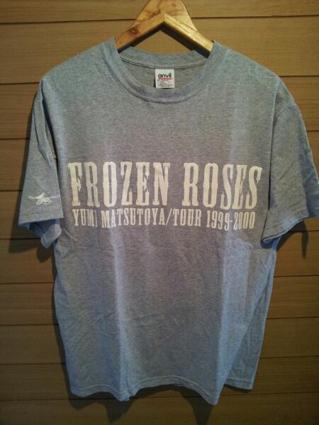 貴重 松任谷由実 ユーミン 1999 2000年 FROZEN ROSES Tシャツ L