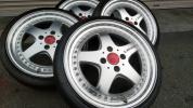 軽サイズK-BREAKケイブレイクリリース165/40段リム6Jツライチサイズ高級人気ブランドホイールカスタム軽カー等VIPスタンスUSDM