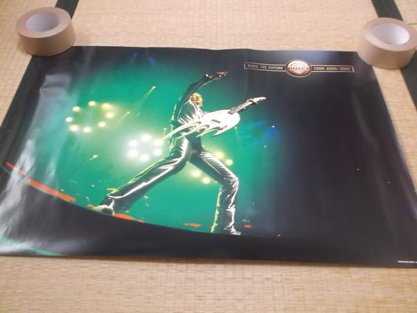 ▼ 布袋寅泰 【 ROCK THE FUTURE TOUR 2000-2001 ポスター 】 元BOOWY / COMPLEX ライブグッズの画像