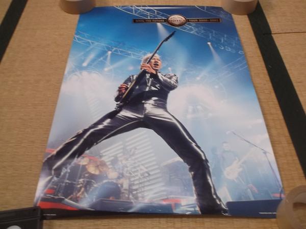 ▼ 布袋寅泰 【 ROCK THE FUTURE TOUR ポスター 】 元BOOWY / COMPLEX ライブグッズの画像