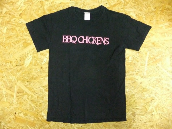 BBQ CHICKENS バーベキューチキンズ 両面プリント バンドTシャツ PIZZA OF DEATH 横山健 Hi-STANDARD ライブグッズの画像