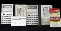 動作品 CASIO ゲーム電卓 MG-880 デジタルインベーダー おまけ付 送安