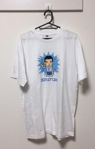 激レア 非売品 新品 SMAP 草彅 剛 地デジ Tシャツ サイズフリー 白