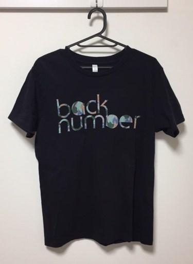 激レア 美品 back number love stories tour 2014 迷彩ロゴ Tシャツ サイズM 黒