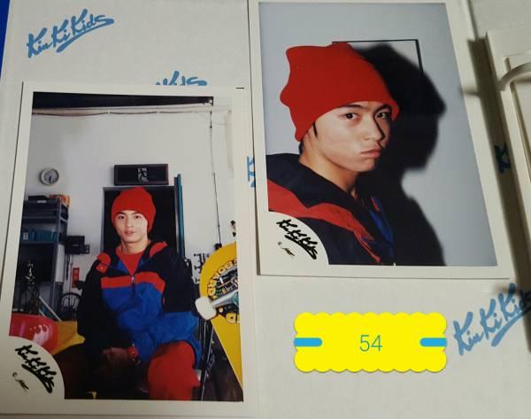 (54) KinKi Kids キンキキッズ 堂本剛 ジャニーズショップ 公式 写真 4枚 コンサート パンフレット撮影 SUPER LOVERS