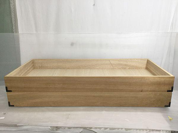桐衣装箱 まとめて4箱 和装 和服 衣装 押し入れやクローゼットの整理に♪/K80324_画像2