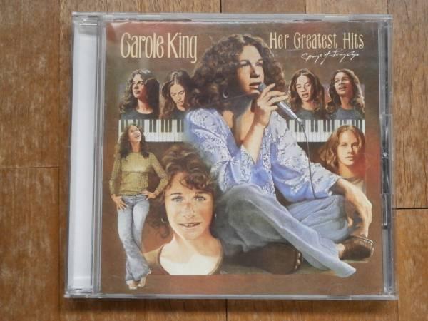 Carole King Her Greatest Hits キャロルキング ベスト BEST グレイテストヒッツ CD 国内盤 帯付_画像1
