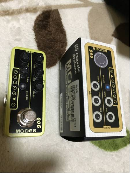 Mooer Micro Preamp 006 プリアンプ fenderトーン アンプシミュレーター