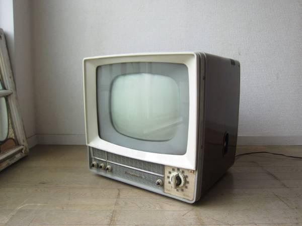 昭和レトロ MITSUBISHI 三菱 真空管テレビ 14T-160 ジャンク品