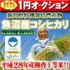 【こだわり特別栽培米】新潟県南魚沼産極上コシヒカリ玄米30k