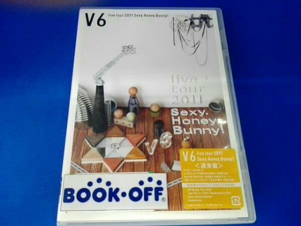 V6 live tour 2011 Sexy.Honey.Bunny! コンサートグッズの画像