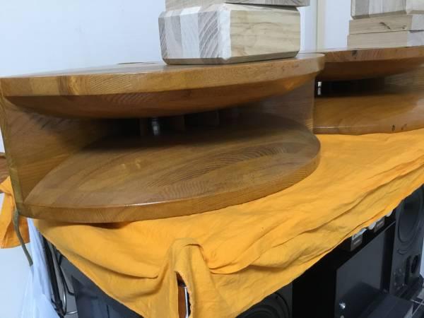 自作1インチ用木製ホーン アダプター制作用木材6個付ペア