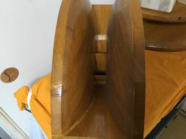 自作1インチ用木製ホーン アダプター制作用木材6個付ペア_画像3