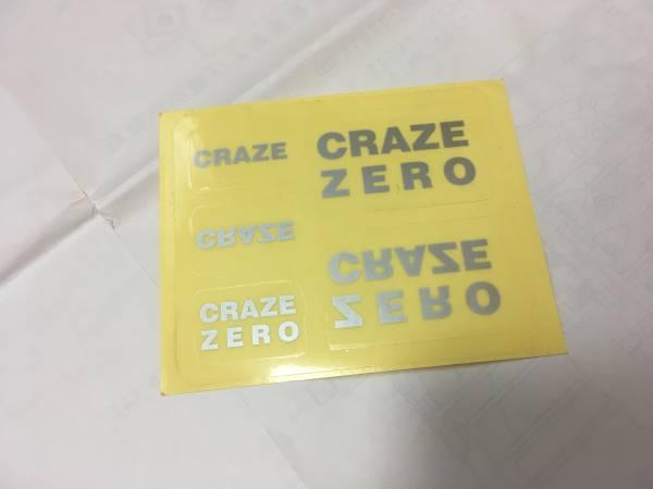★CRAZE ステッカーシート 10cm×8cm★関連D'ERLANGER