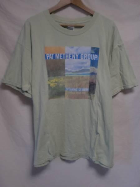Pat Metheny Group パットメセニー コンサート ワールドツアー Tシャツ 2002年 XL