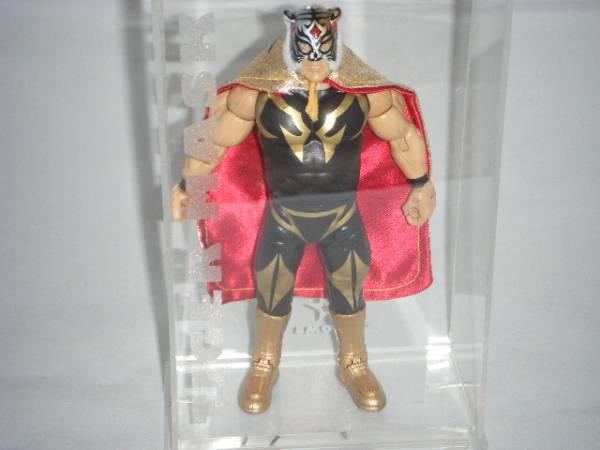 ☆リアルジャパン 初代タイガーマスク フィギュア 佐山サトル WWE WWF グッズの画像