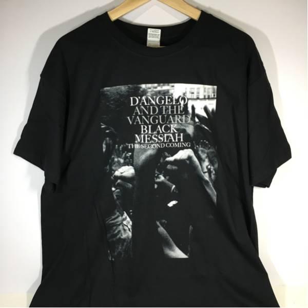 新品D'ANGELO ディアンジェロ BLACK MESSIAH ヨーロッパツアーTシャツ サイズ XL