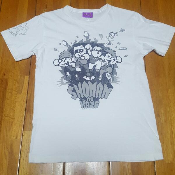 ♪【湘南乃風 Tシャツ】Sサイズ 白 睡蓮花 2006年  ライブグッズの画像