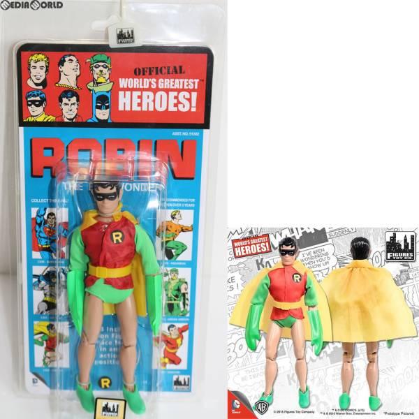 ワールドグレイテストヒーローズ/ DCコミックス クレスゲ スタイル レトロ 8インチ シリーズ3 ロビン フィギュアズトイ グッズの画像