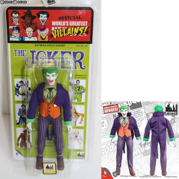 ワールドグレイテストヒーローズ/ DCコミックス クレスゲ スタイル レトロ 8インチ シリーズ3 ジョーカー フィギュアズトイ グッズの画像