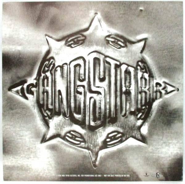 1998 GANGSTAR ギャングスター プロモポスター PROMO FULL CLIP A DECADE OF GANGSTARR 12インチレコードサイズ
