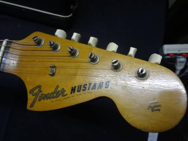 [中古 エレキギター ケース付き]FENDER mustang ヴィンテージムスタング