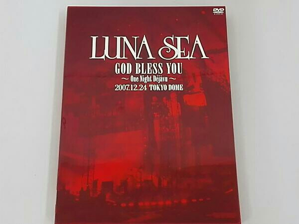 LUNA SEA GOD BLESS YOU~One Night Dejavu~2007.12.24 TOKYO DOME ライブグッズの画像