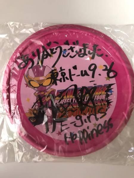 ★ E-girls Happiness 楓 直筆サイン フリスビー 東京ドーム 9/26 ★ ライブグッズの画像