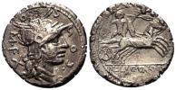 紀元前 古代ローマ 共和政ローマ チャリオット チャリオット(戦車) 3,50 g / 19 mm