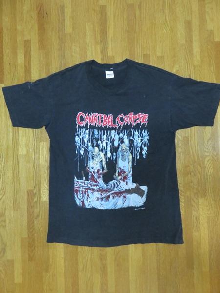 カンニバルコープス CANNIBAL CORPSE バンド Tシャツ XL デス メタル グロ スカル 古着 ヴィンテージ