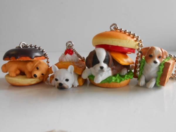 ♯LDg11DA dog full 8 All 4 species dog DOG Dachshund donuts French blue♂BANDAI Bandai♀200 yen〓017774_b