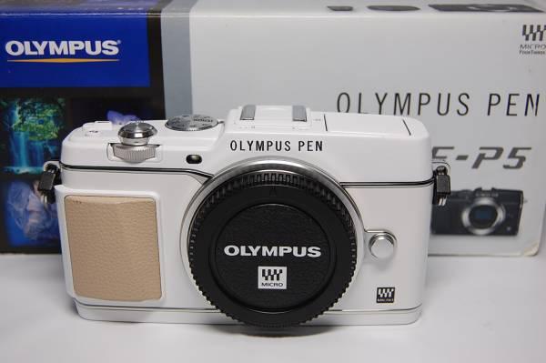 ☆良品 OLYMPUS  オリンパス  E-P5 ボディ ホワイト ☆