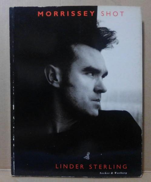 洋書 モリッシー(スミス)写真集 Morrissey Shot 売上カード付 1992年