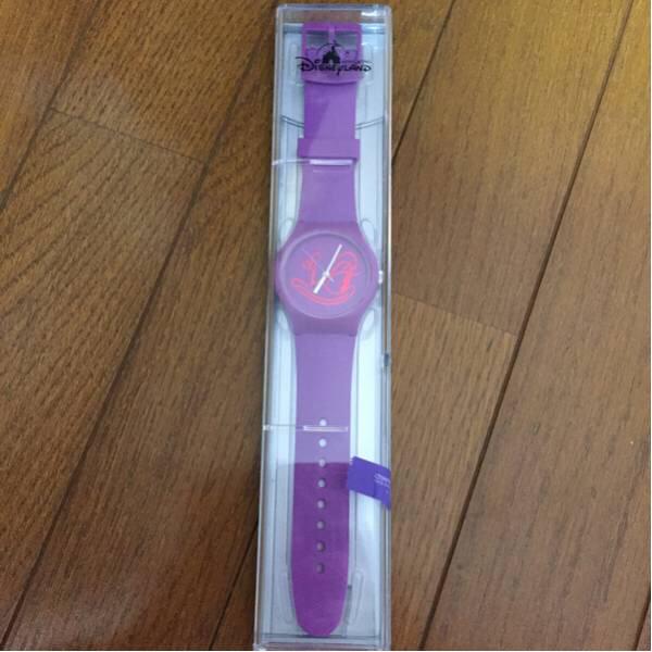 香港ディズニーデイジー時計未使用 ディズニーグッズの画像